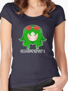 """I Like Gumi!"" Women's Fitted Scoop T-Shirt"