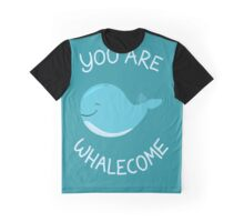 Whale, thank you! Graphic T-Shirt