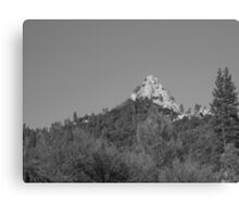 Moro Rock Kern Mountains Canvas Print