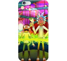 Rick and Morty...Except without skin iPhone Case/Skin