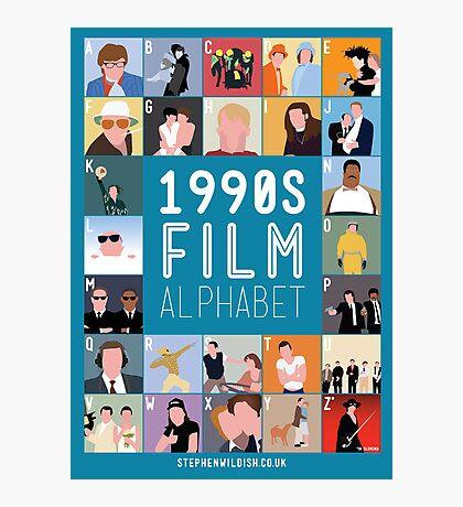 1990's Film Alphabet Photographic Print