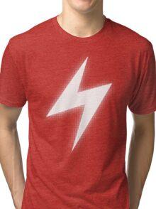 Electric Type (White Glow) Tri-blend T-Shirt
