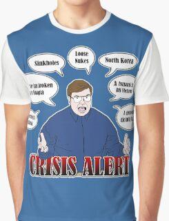 Community -- CRISIS ALERT! Graphic T-Shirt
