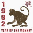Year of The Monkey 1992 Chinese Zodiac Monkey 1992 by ChineseZodiac