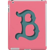 Uppercase B iPad Case/Skin