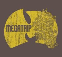 Megatrip (nuthing ta f' wit - yellow gold variant) One Piece - Short Sleeve