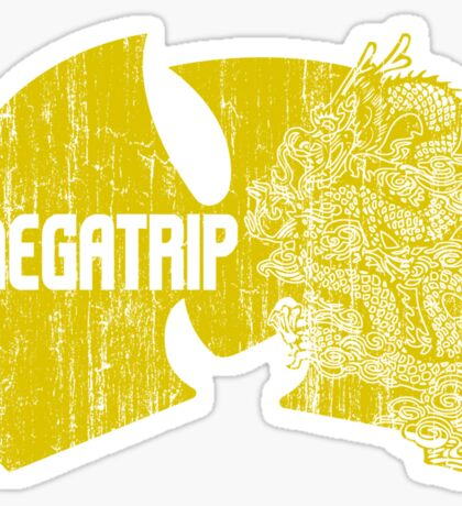 Megatrip (nuthing ta f' wit - yellow gold variant) Sticker
