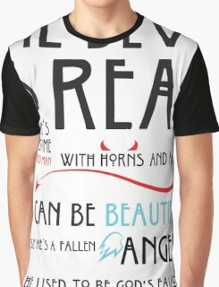 The Devil is  Real Graphic T-Shirt
