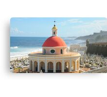Old San Juan, Puerto Rico Dome Canvas Print