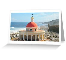 Old San Juan, Puerto Rico Dome Greeting Card