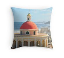 Old San Juan, Puerto Rico Dome Throw Pillow