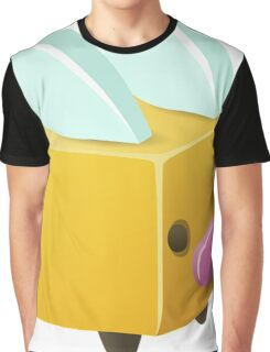 Square, Cube Bee Graphic T-Shirt