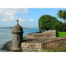 Old San Juan Gun Turret Photographic Print