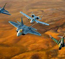 Heritage Flight II by StratoArt