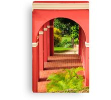 Old San Juan Archway Canvas Print