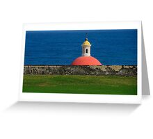 Old San Juan, Puerto Rico Tomb Greeting Card