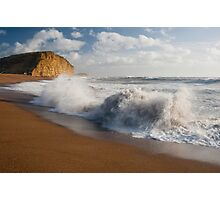East beach surf Photographic Print