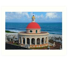 Old San Juan Dome Art Print