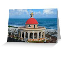 Old San Juan Dome Greeting Card