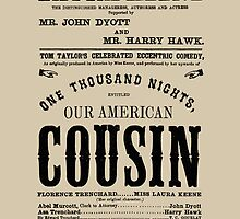 Our American Cousin by Jeff Vorzimmer