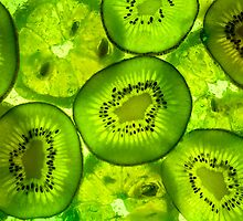 Abstract Kiwi by Daniel  Bristow