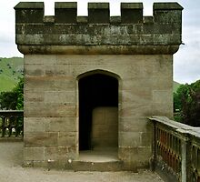 Garden Terrace Turret, Ilam Hall by Rod Johnson