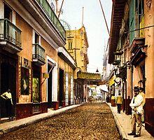 Calle de Habana, Cuba by Jeff Vorzimmer
