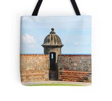 Old San Juan Gun Tower Tote Bag