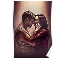 Outlaw Queen Nose Kiss Poster