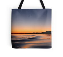 Sunset on Lake Wisconsin Tote Bag