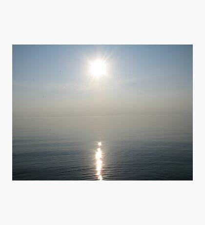 Sun Ray over Lake Michigan Photographic Print