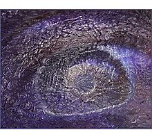 Trippy Eye Psychedelic Poster Photographic Print