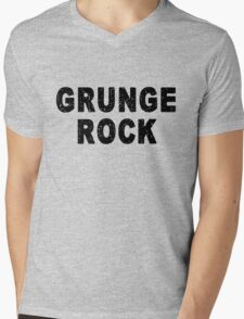 Grunge Rock Mens V-Neck T-Shirt
