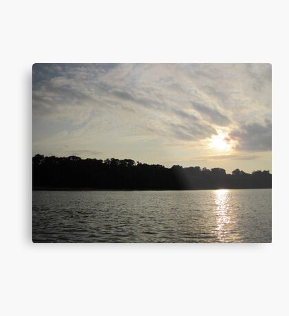 Fanciful Sun Cloudscape Metal Print