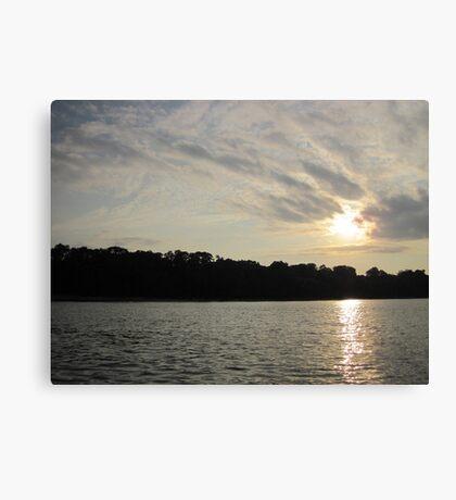 Fanciful Sun Cloudscape Canvas Print