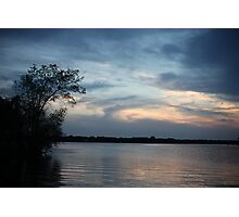 Lac LaBelle Sunset Photographic Print