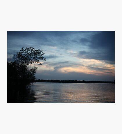 Lac LaBelle Sunset Photographic Print