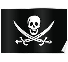 Pirate (Jolly Roger) Flag Poster