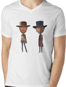 Clint on Main Street Mens V-Neck T-Shirt