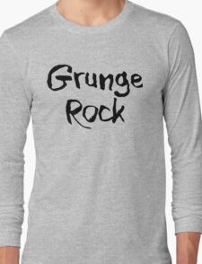 Grunge Rock Long Sleeve T-Shirt