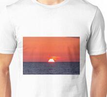 Orange sunset III Unisex T-Shirt