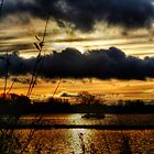 Yeadon Tarn Sunset 2 by Colin Metcalf