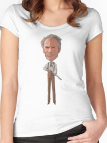 Clint is rusty. Women's Fitted Scoop T-Shirt