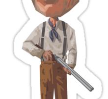 Clint is rusty. Sticker