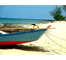 Asian Boat Photographic Print