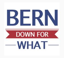 Bernie Sanders - Bern Down For What Kids Clothes