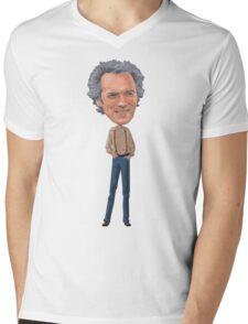 Clint in love Mens V-Neck T-Shirt
