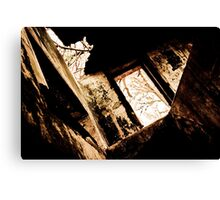 The Abandoned Room Canvas Print