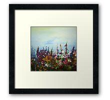 spring to life colour burst multitude  Framed Print