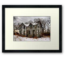 Wilkinson Homestead Framed Print